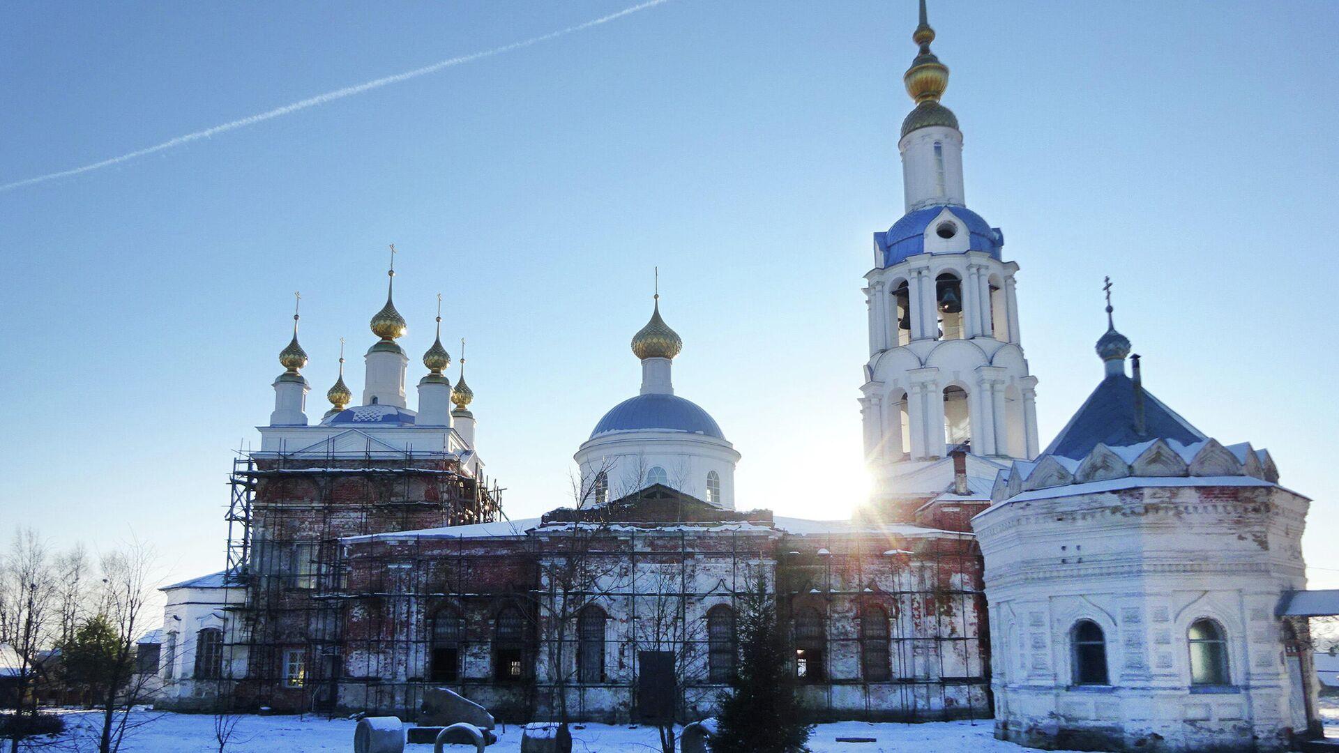 Казанская церковь - РИА Новости, 1920, 19.01.2021