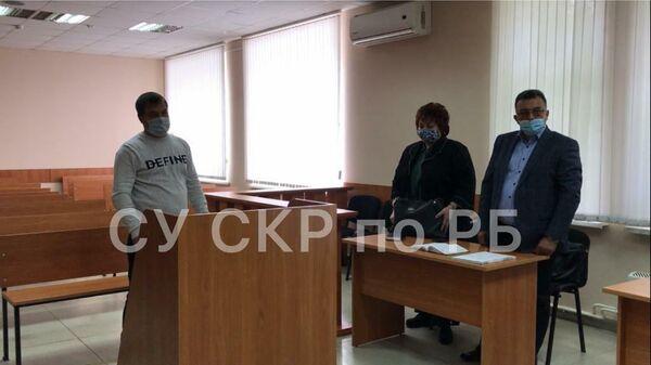 Владимир Санкин в зале суда