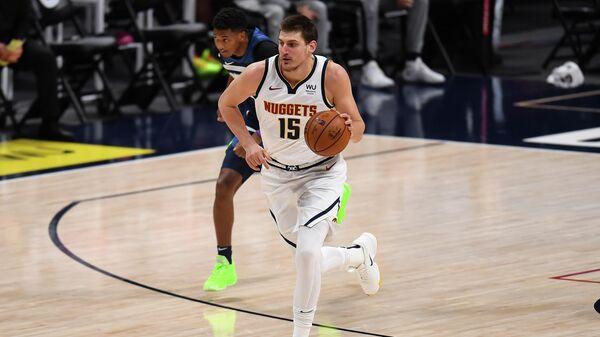 Баскетболист Денвер Наггетс Никола Йокич