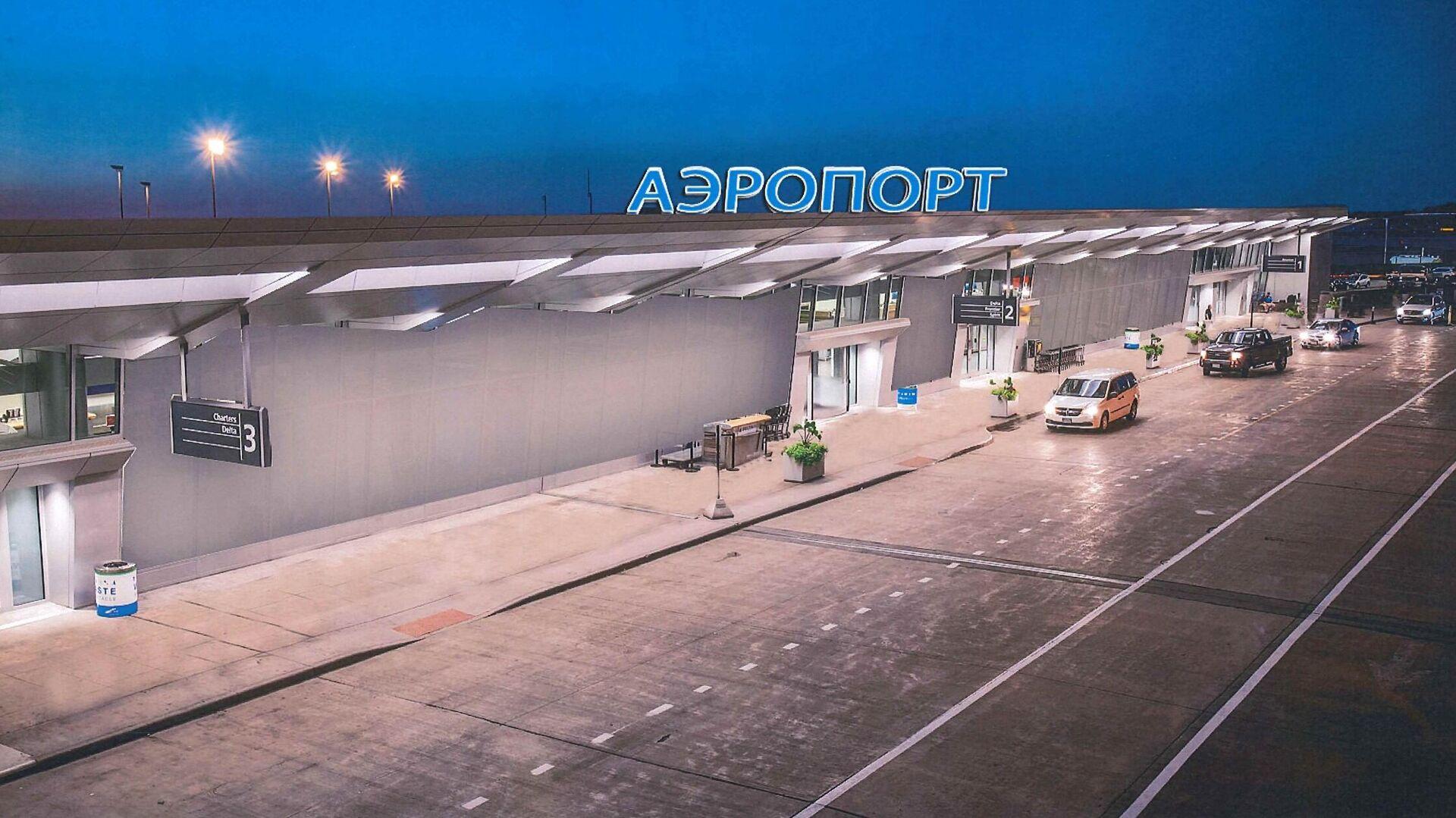 Проект терминала аэропорта на космодроме Восточный - РИА Новости, 1920, 15.01.2021