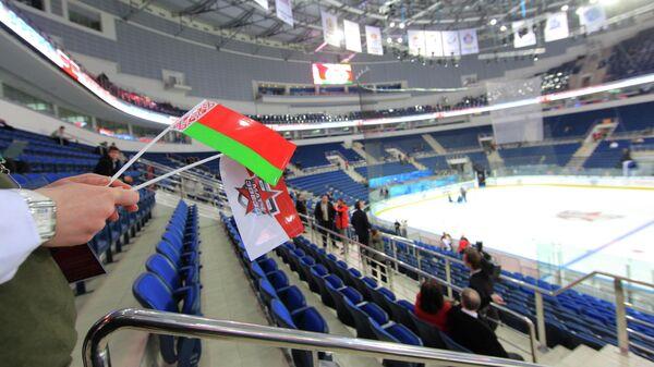 Ледовая арена нового спортивного комплекса Минск-Арена