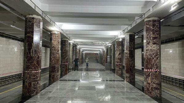 Реконструкция станции метро Каховская в Москве