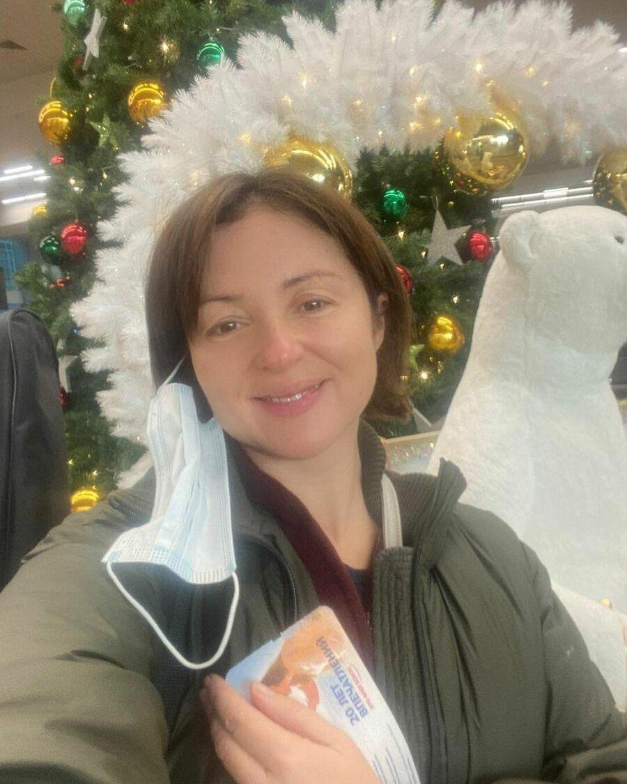 Актриса Анна Банщикова