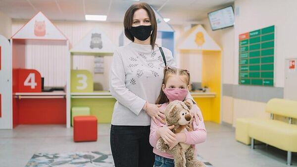 Семилетняя Соня в Кировской областной детской клинической больнице