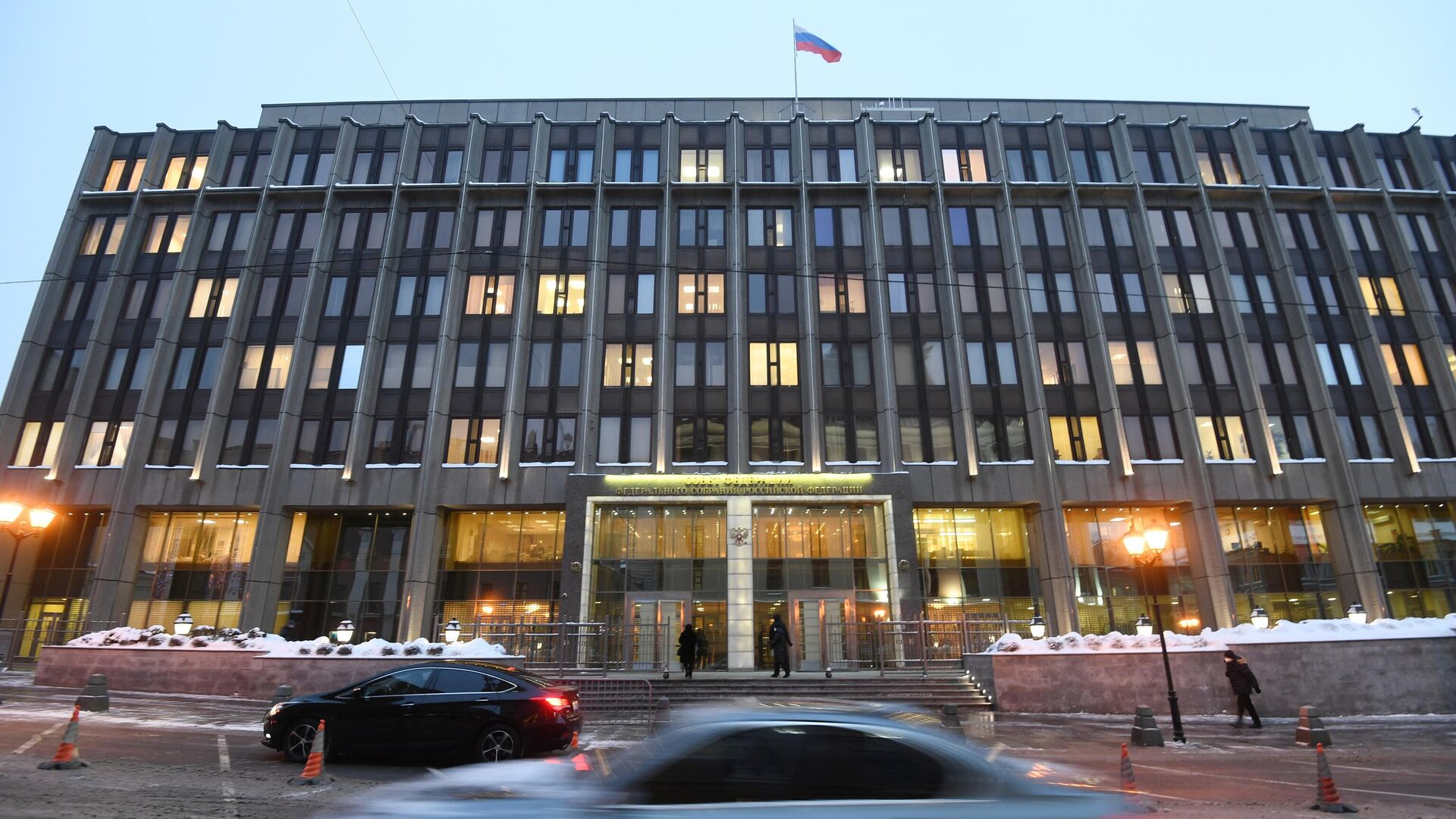 Здание Совета Федерации РФ в Москве - РИА Новости, 1920, 14.03.2021