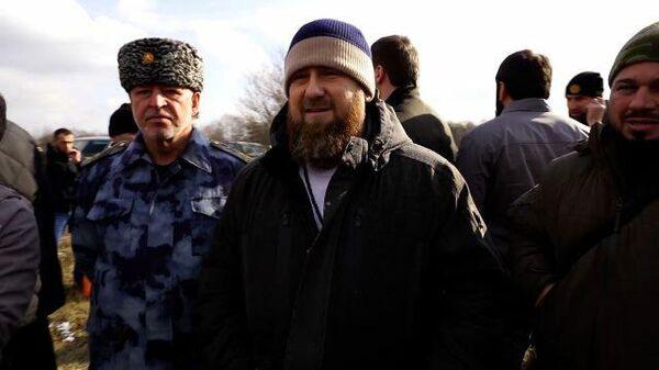 Видео с места спецоперации в Чечне: Кадыров поздравляет бойцов