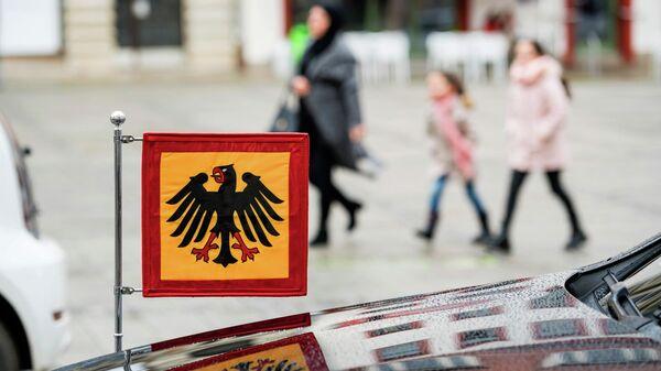 Штандарт с гербом Германии