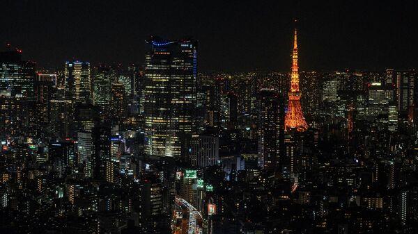 Вид на Токио