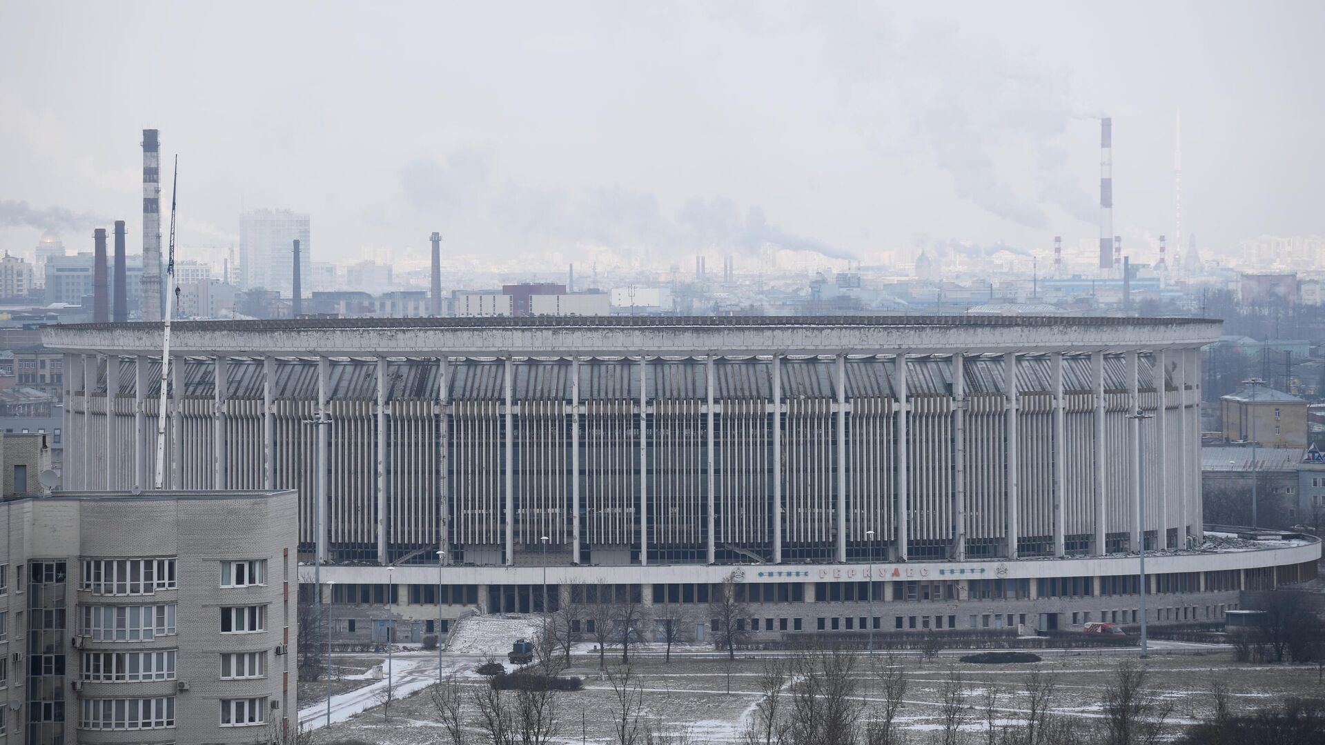 В Петербурге обрушилась крыша спортивно-концертного комплекса - РИА Новости, 1920, 21.01.2021