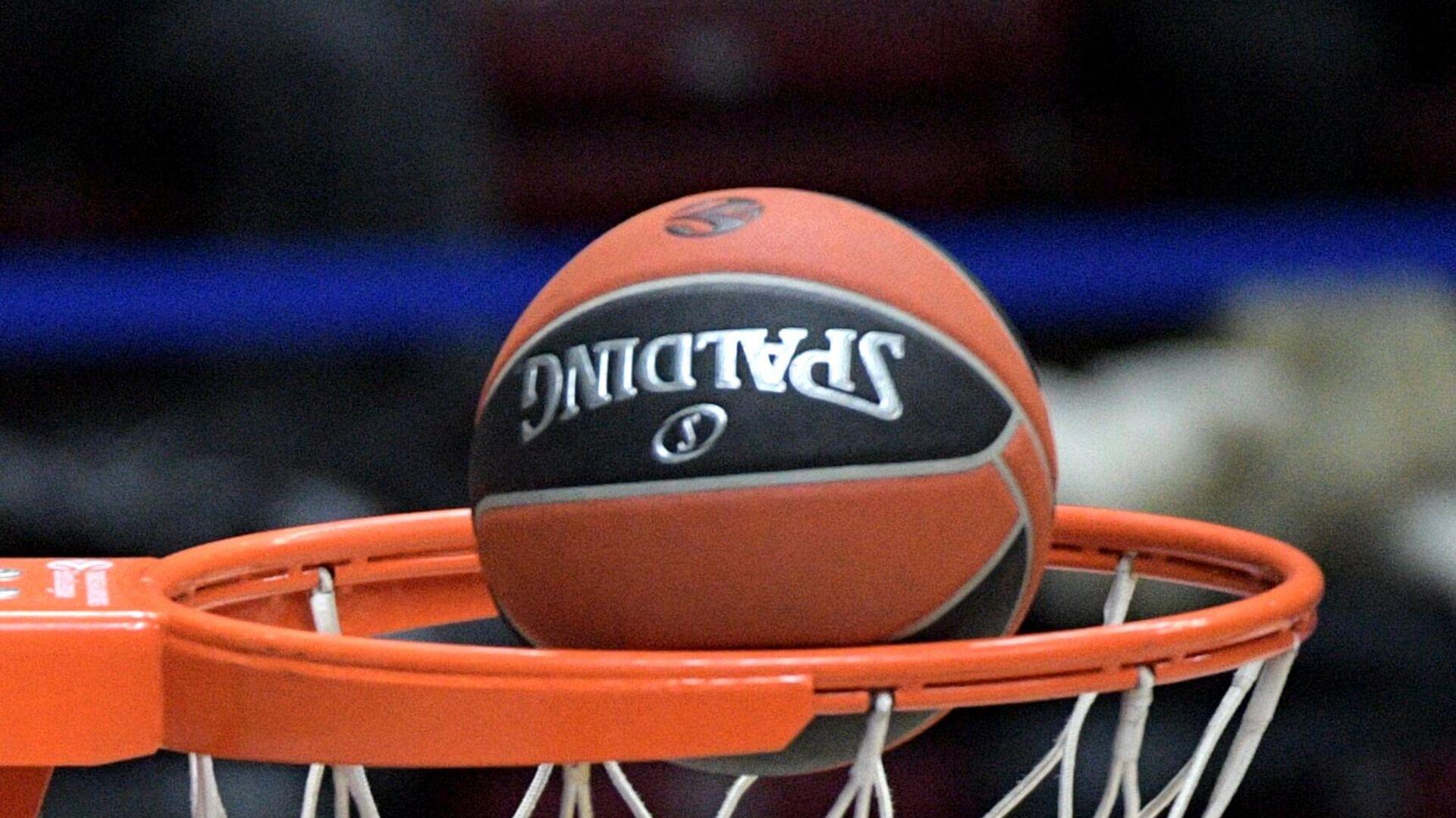 Баскетбольный мяч - РИА Новости, 1920, 09.05.2021
