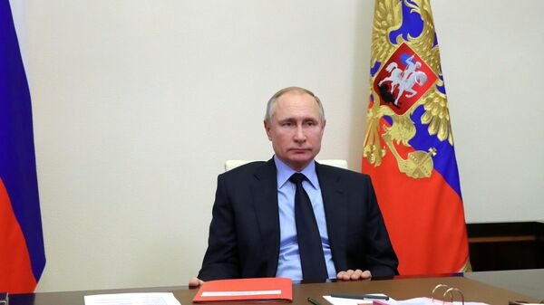 Путин поблагодарил строителей дороги в Химках