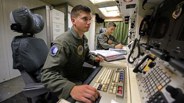 Объект управления запуском межконтинентальных баллистических ракет авиабаза Минот в штате Северная Дакота
