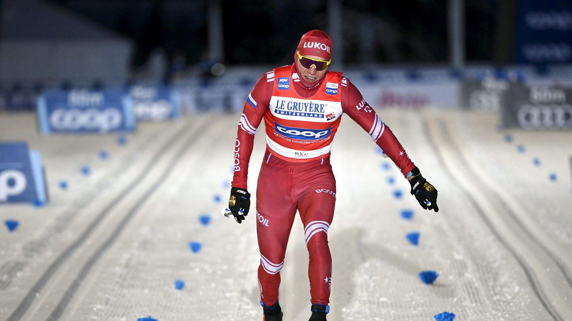 Российский лыжник Александр Большунов - РИА Новости, 1920, 24.01.2021