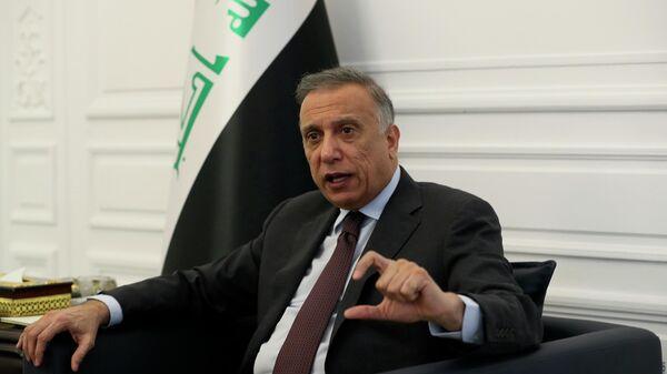 Премьер-министр Ирака Мустафа аль-Каземи в Багдаде