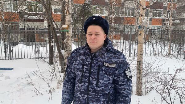 Сержант полиции Леонид Ольховский
