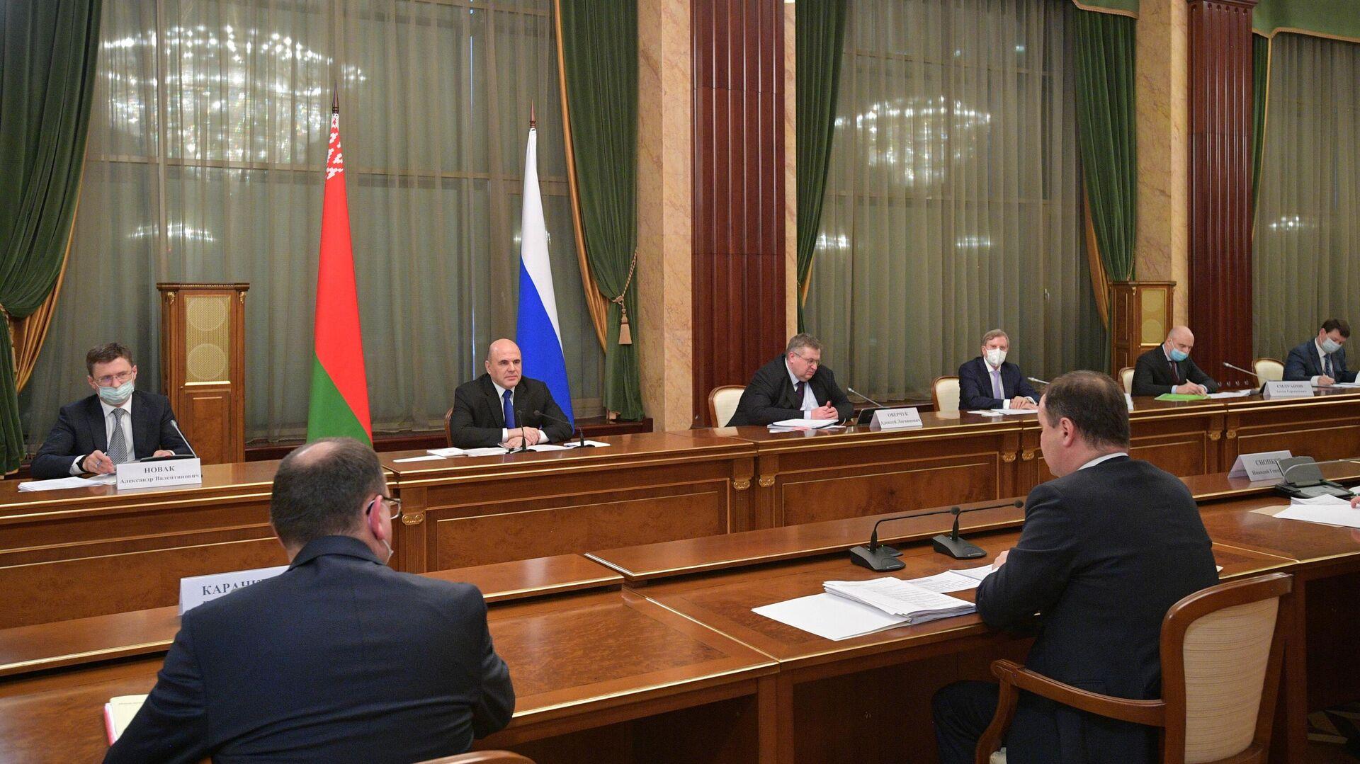 Мишустин оценил влияние коронавируса на торговлю с Белоруссией