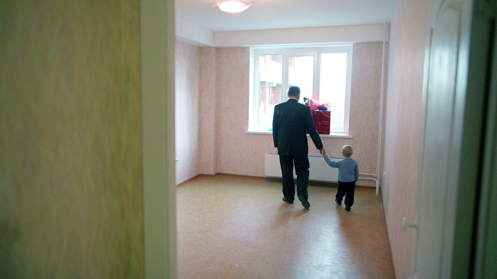 Заселение в новую квартиру - РИА Новости, 1920, 27.01.2021