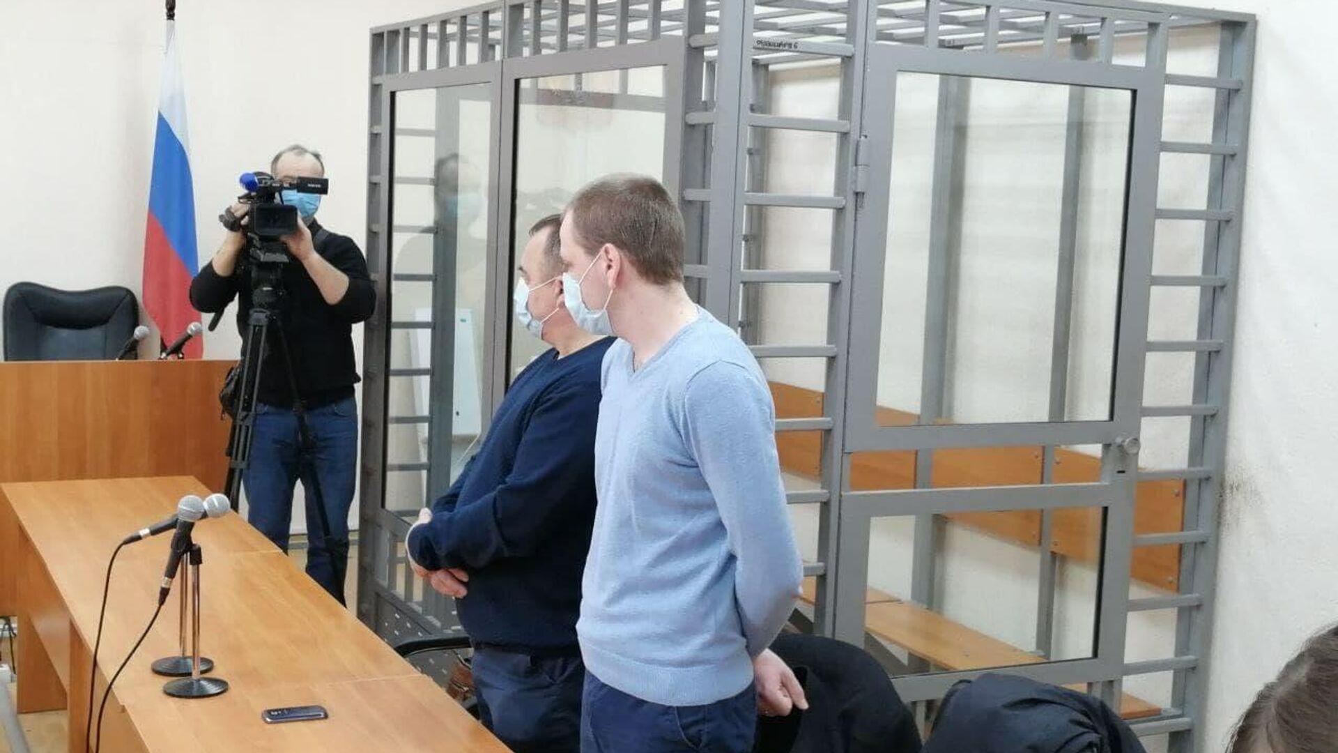 Вынесение приговора бывшим полицейским по делу о гибели задержанного в Калининграде - РИА Новости, 1920, 29.01.2021