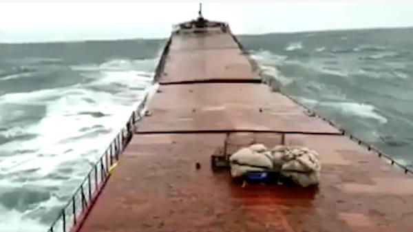 Крушение украинского сухогруза у берегов Турции