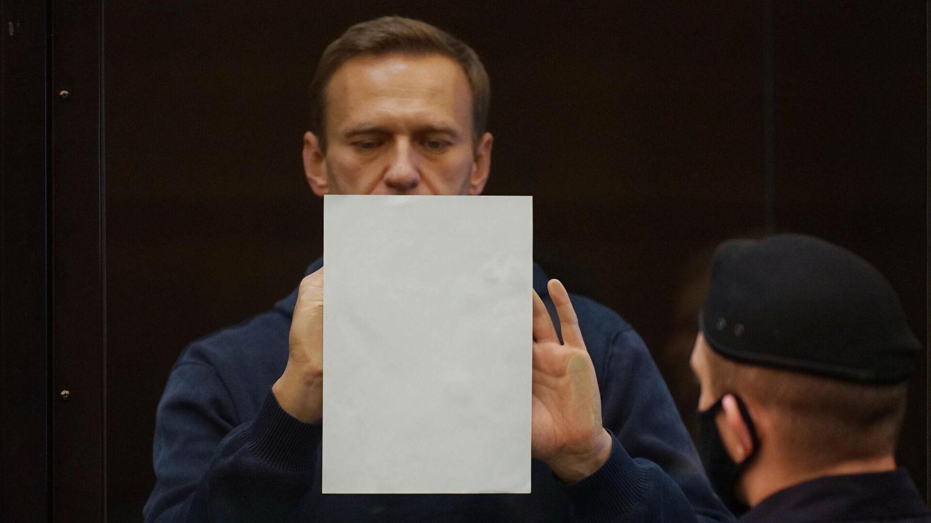 Алексей Навальный на заседании Московского городского суда - РИА Новости, 1920, 02.02.2021