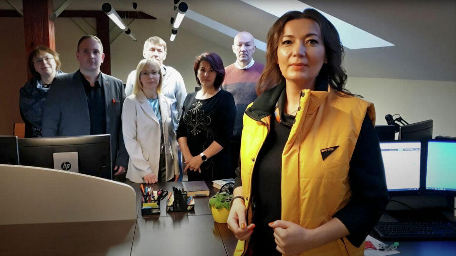 Бывшие сотрудники новостного агентства Sputnik Эстония, запустившие свой новый информационный проект — Sputnik Meedia - РИА Новости, 1920, 02.02.2021