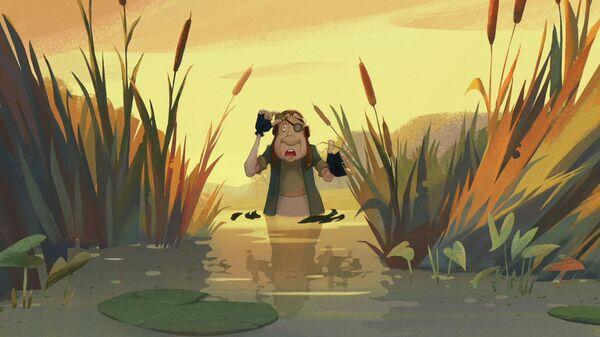 Кадр из мультфильма Огонек-огниво