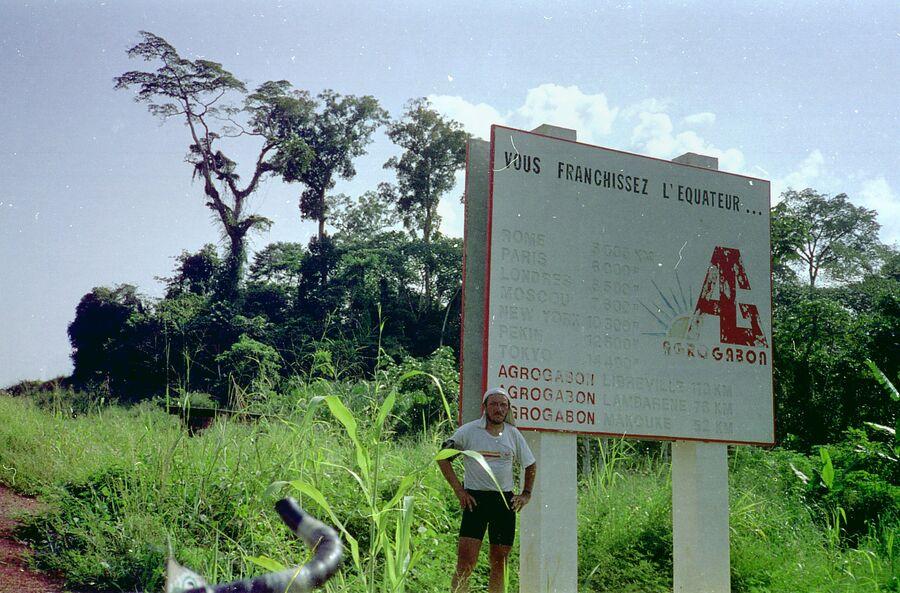 Первый Экватор. Габон, 1994