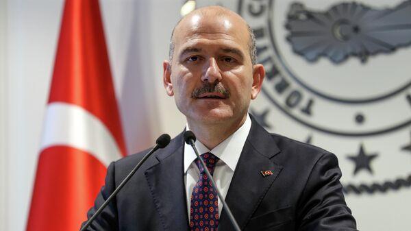 Министр внутренних дел Турции Сулейман Сойлу