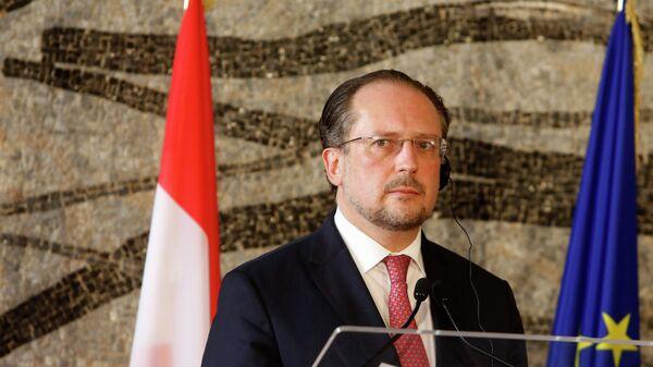 Глава МИД Австрии Александр Шалленберг