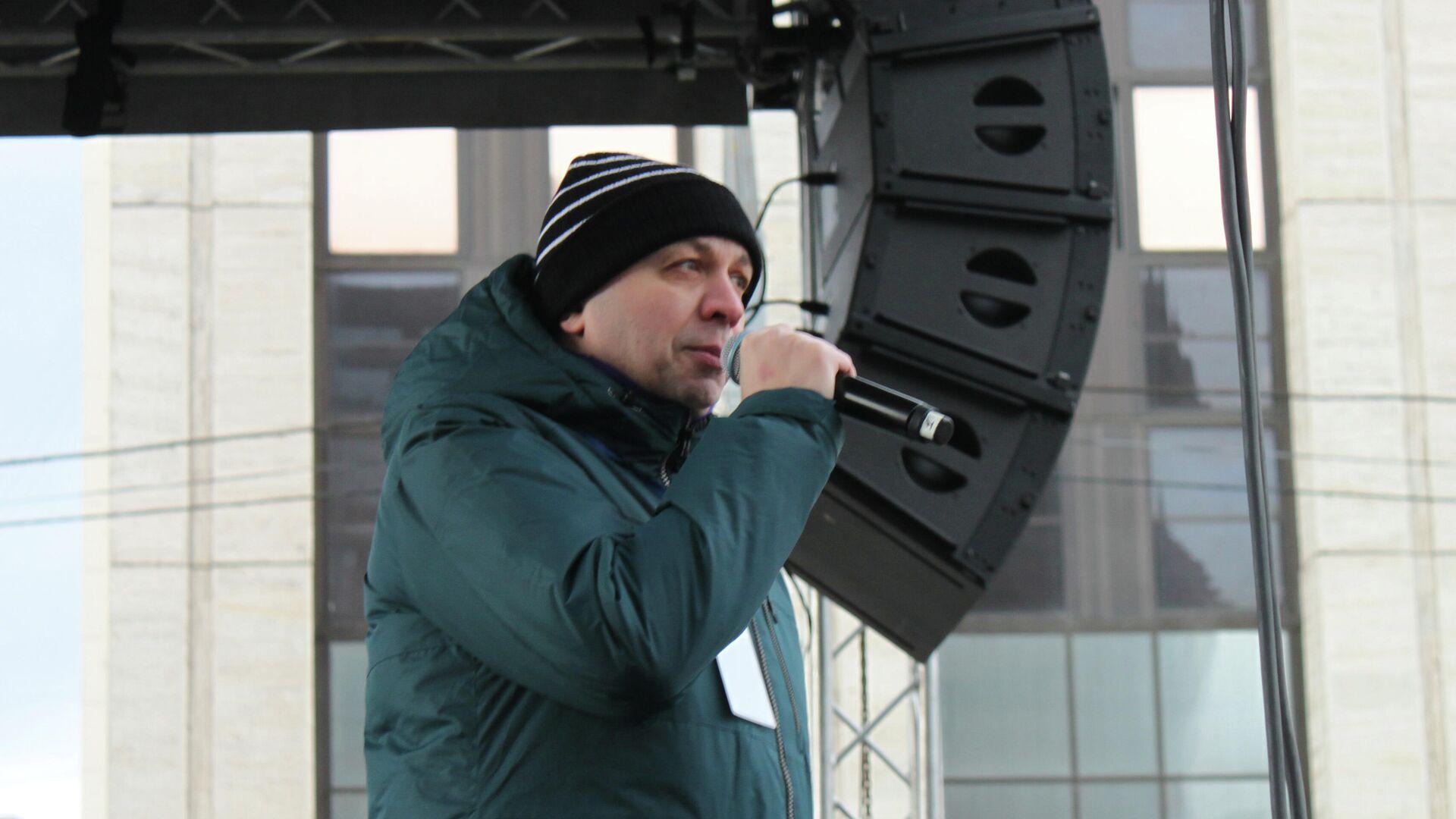Журналист Сергей Смирнов - РИА Новости, 1920, 04.02.2021