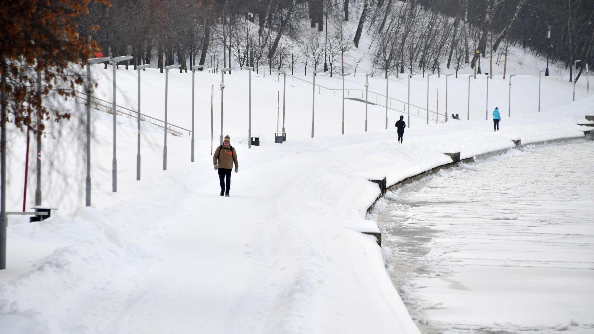 Зима в Москве - РИА Новости, 1920, 04.02.2021