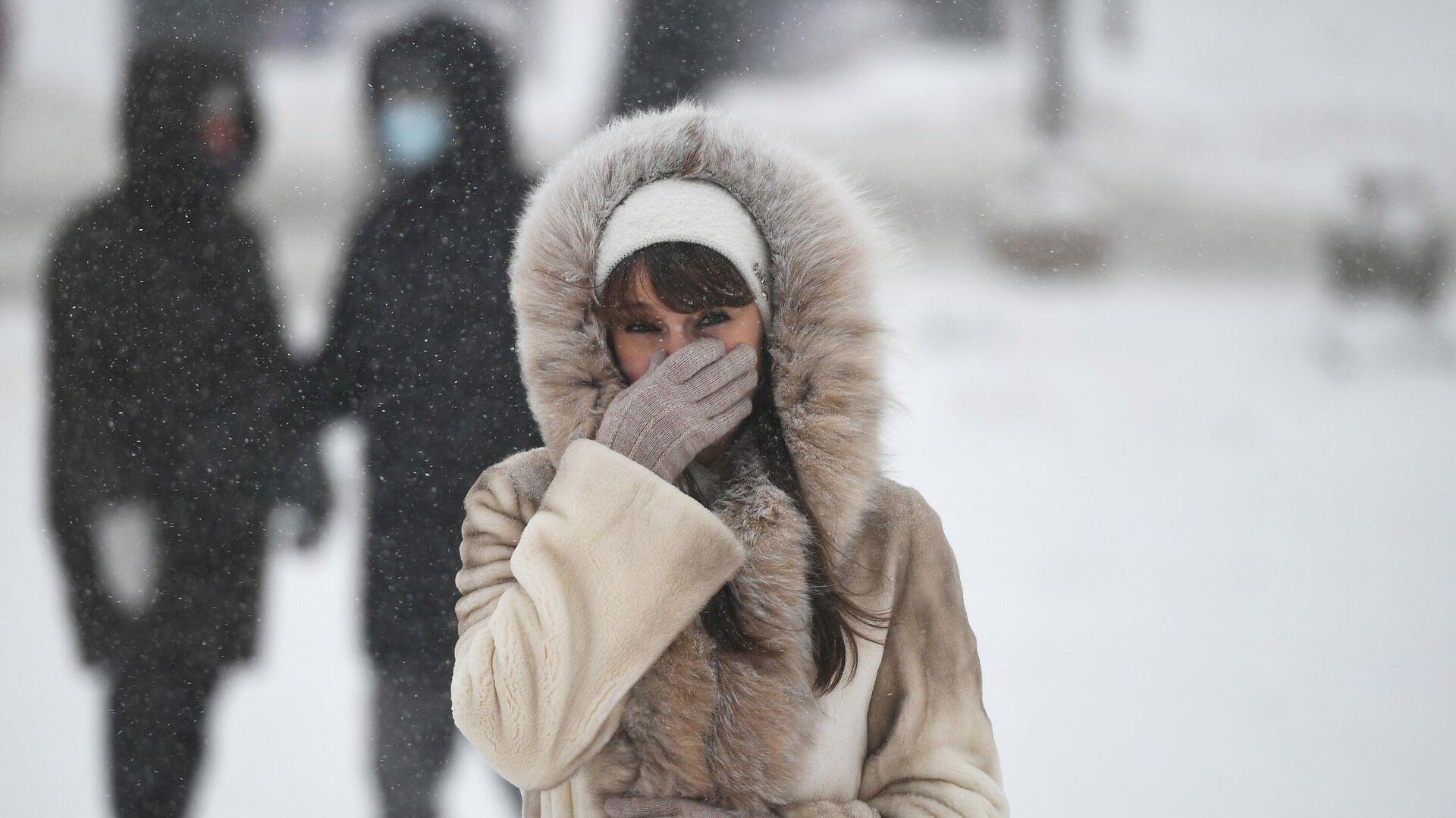 Зима в Москве  - РИА Новости, 1920, 05.03.2021