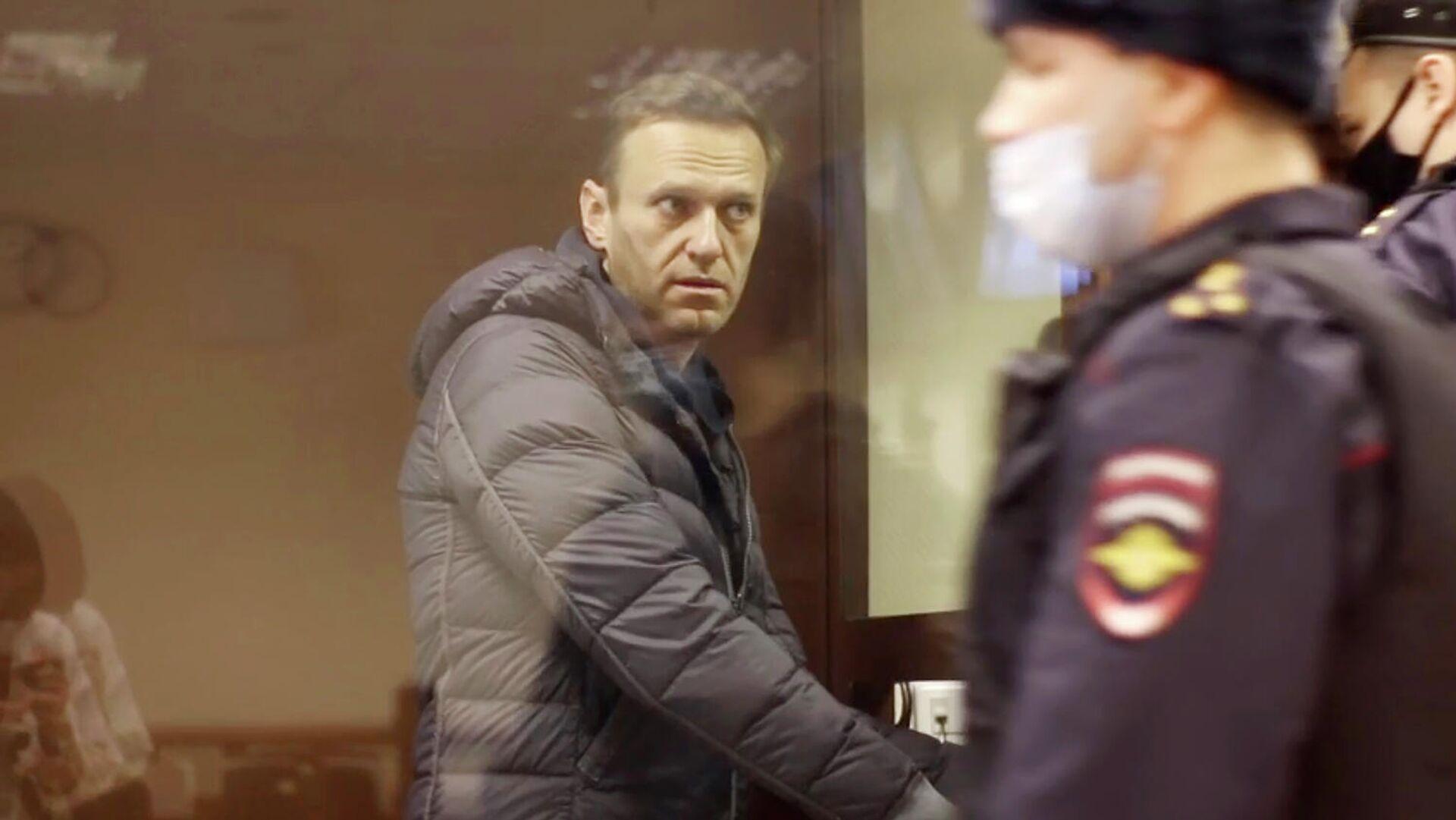 Алексей Навальный перед заседанием Бабушкинского суда - РИА Новости, 1920, 05.02.2021