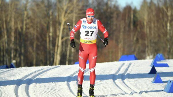 Лыжник Сергей Устюгов (Россия)