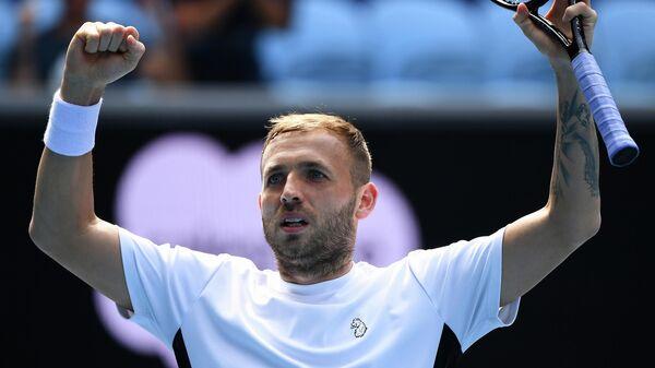 Теннисист Дэниел Эванс (Великобритания)