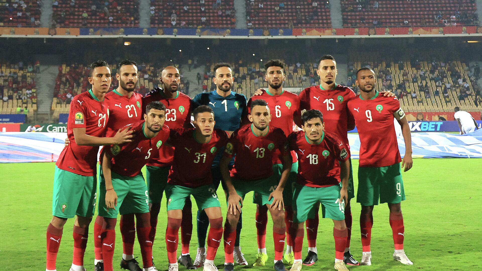 Сборная Марокко по футболу - РИА Новости, 1920, 08.02.2021