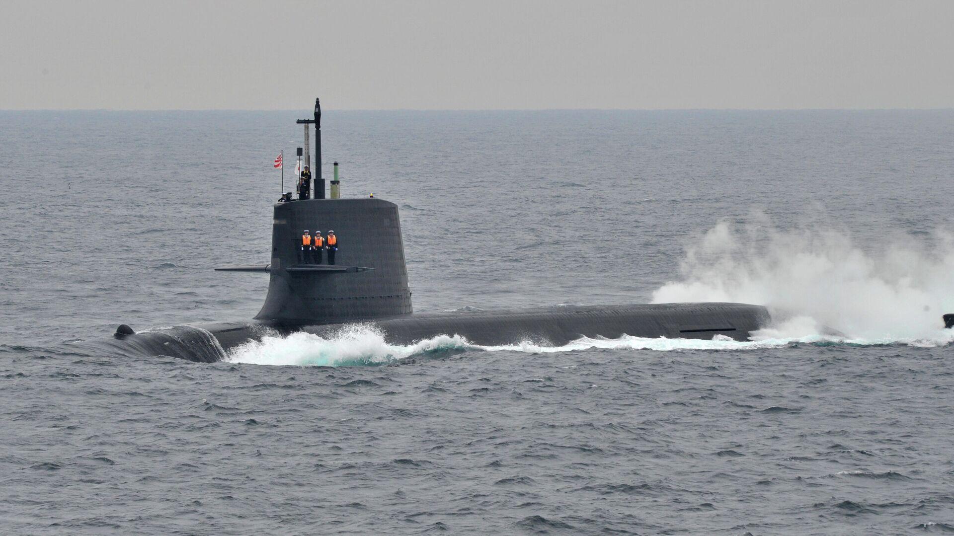 Японская подводная лодка - РИА Новости, 1920, 08.02.2021