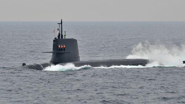 Японская подводная лодка