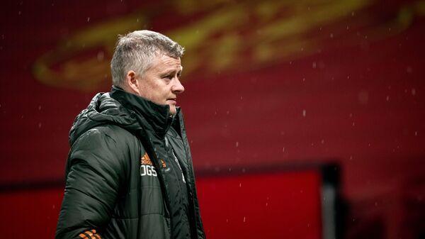 Главный тренер Манчестер Юнайтед Уле-Гуннар Сульшер