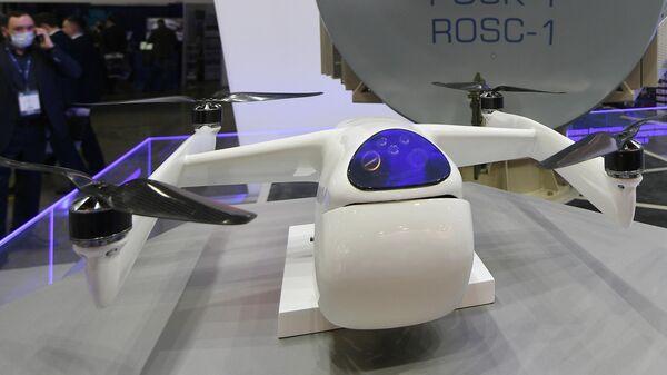 Автоматический перехватчик малоразмерных беспилотных летательных аппаратов Волк-18