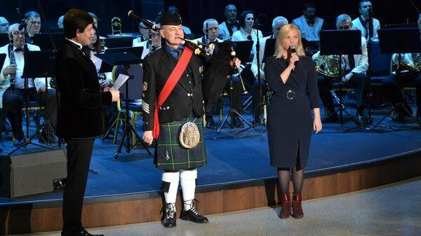 Олеся Соломатина и Дэвид Джонстон на первом фестивале им. Валерия Халилова. Январь 2020 года