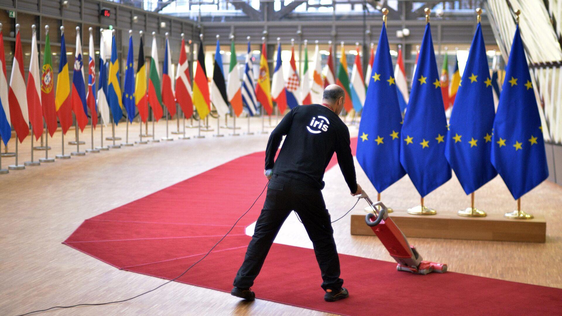 Саммит ЕС в Брюсселе - РИА Новости, 1920, 18.02.2021