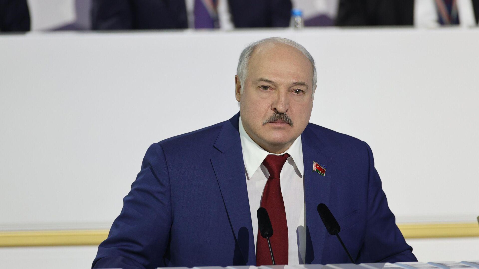 Президент Белоруссии Александр Лукашенко - РИА Новости, 1920, 02.03.2021
