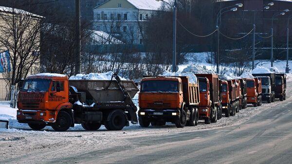 С московских улиц убрали около десяти миллионов кубометров снега