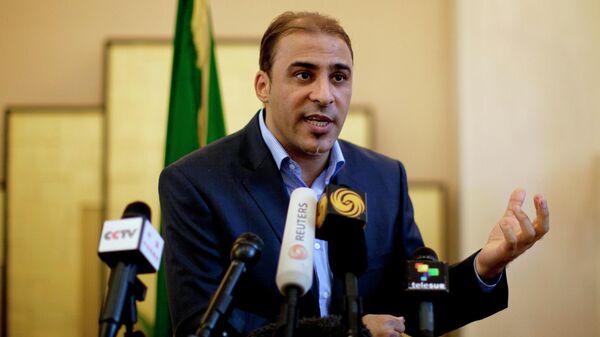 Представитель правительства Муаммара Каддафи Муса Ибрагим