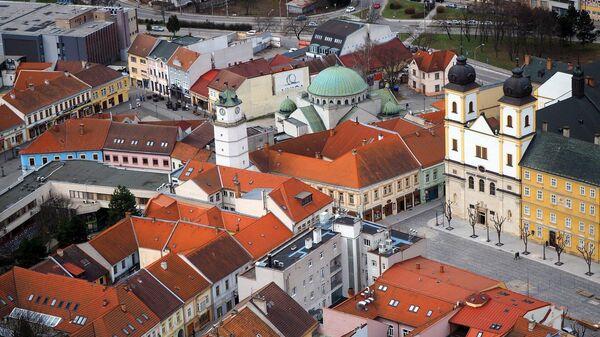 Город Тренчин, Словакия