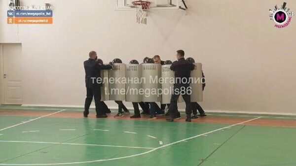 Урок мужества в школе №42 города Нижневартовска