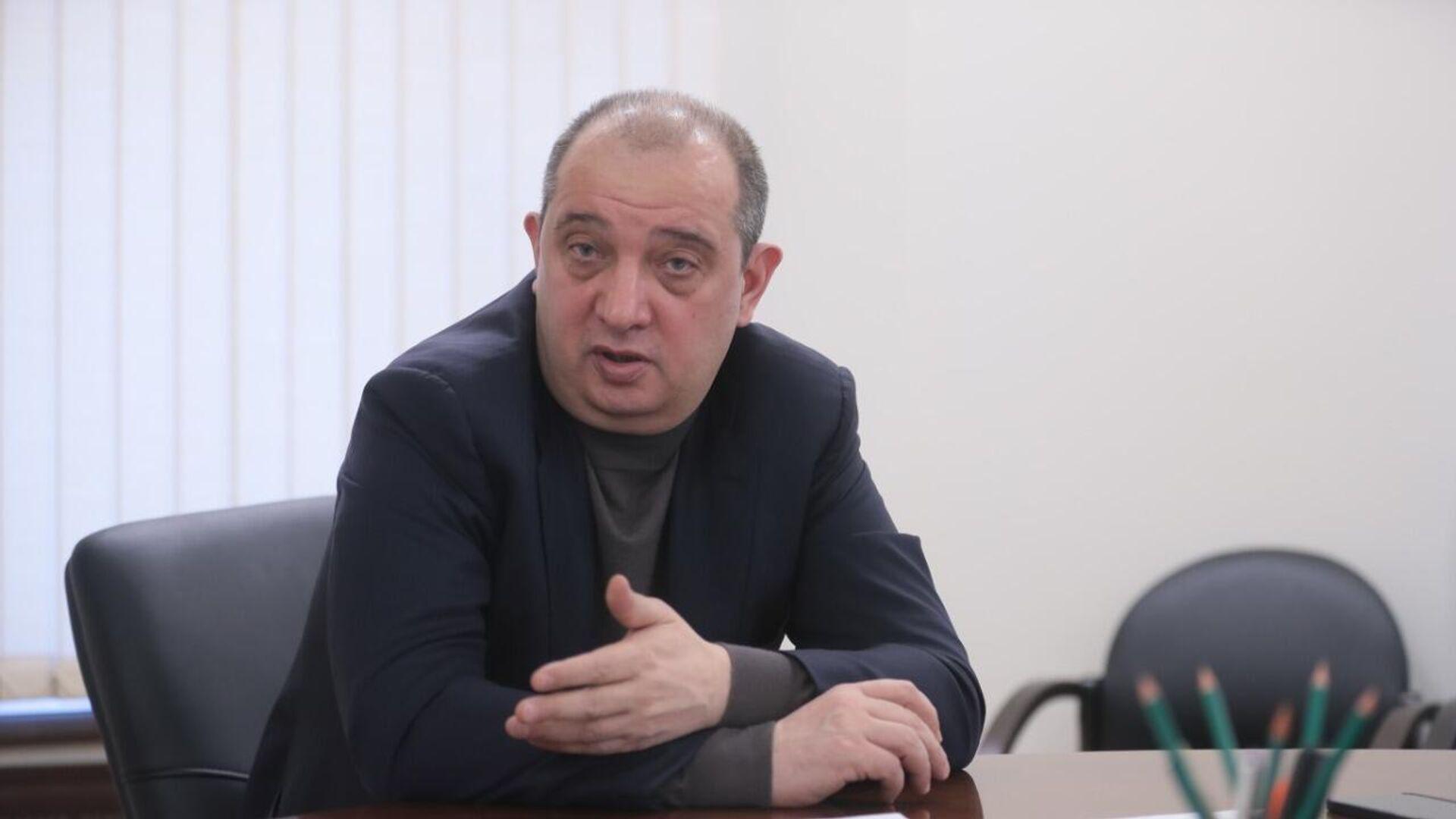 Руководитель Фонда капремонта Москвы Артур Кескинов - РИА Новости, 1920, 17.02.2021