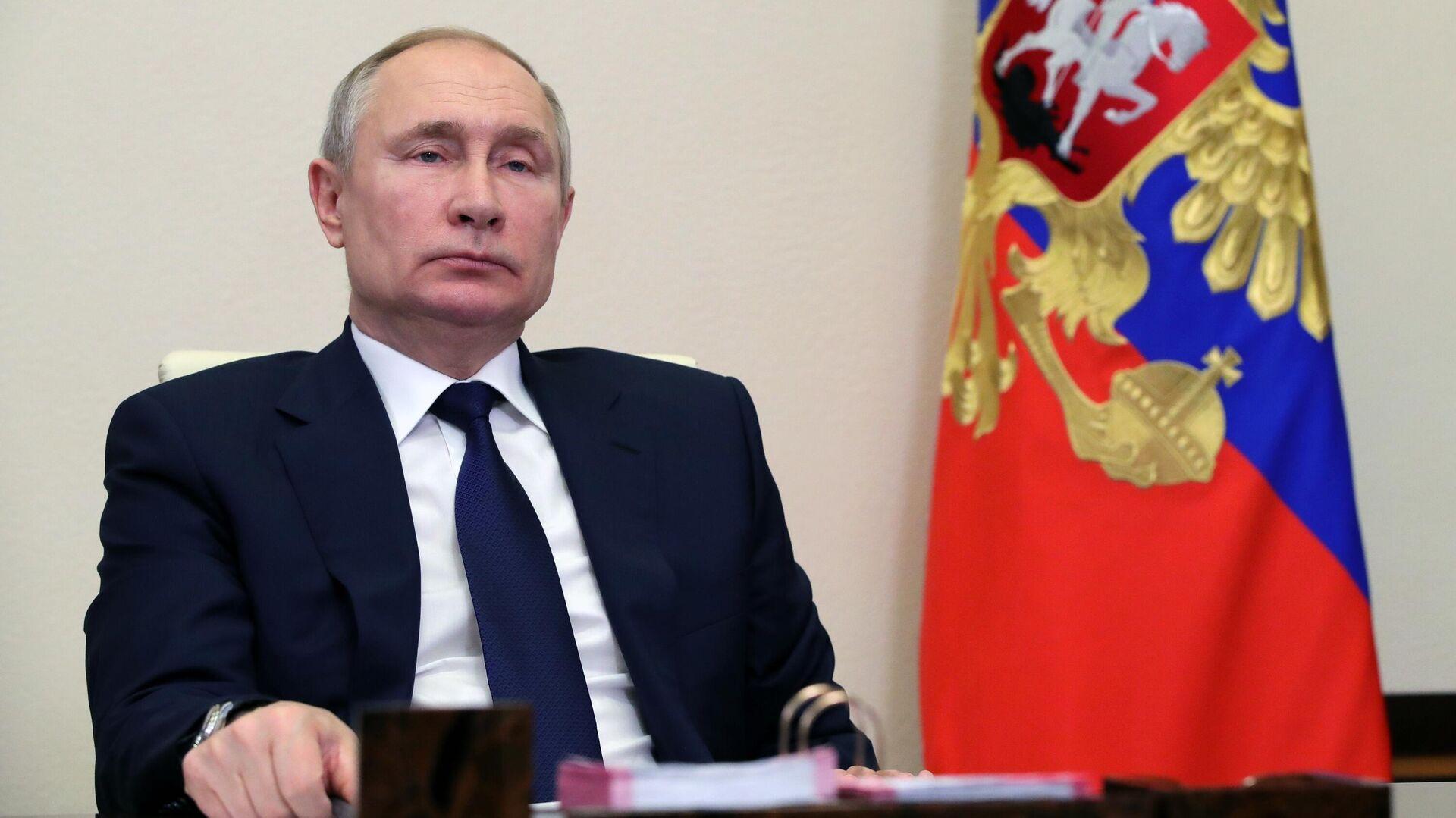 Президент РФ Владимир Путин - РИА Новости, 1920, 26.02.2021