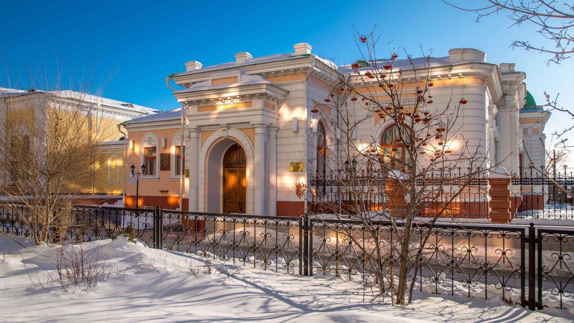 Дом Колчака в Омске - РИА Новости, 1920, 19.02.2021